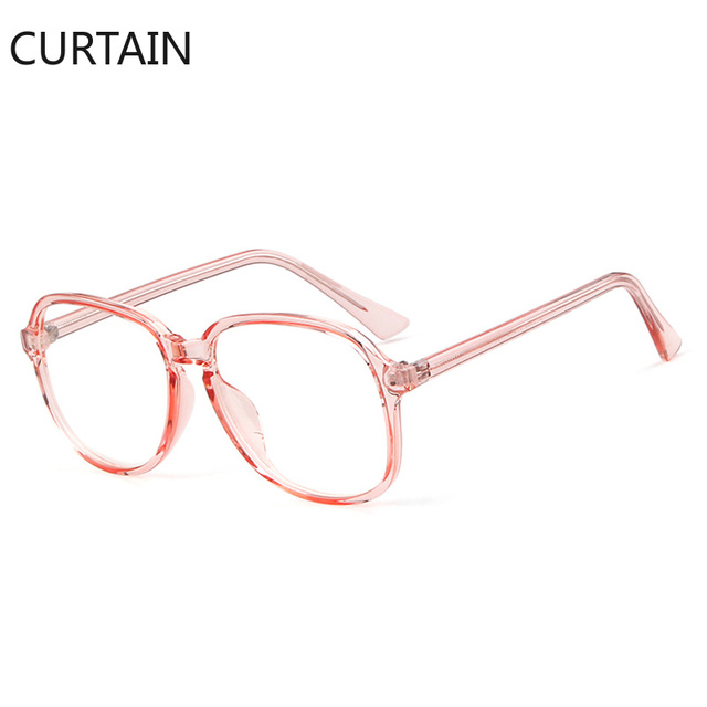 d89a906724 Candy Color Green Pink Glasses Frame Women Brand Design Vintage Colorful  Crystal Oversized Square Optical Clear Lens Eyeglasses