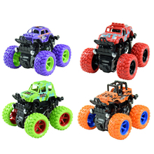 New Inertia Big Wheel Car Toy Model Off-Road Vehicle Truck Toys Car for Children Gift free shipping model rocket vehicle toy is a play for children ball point performance props garage kit toys child s gift