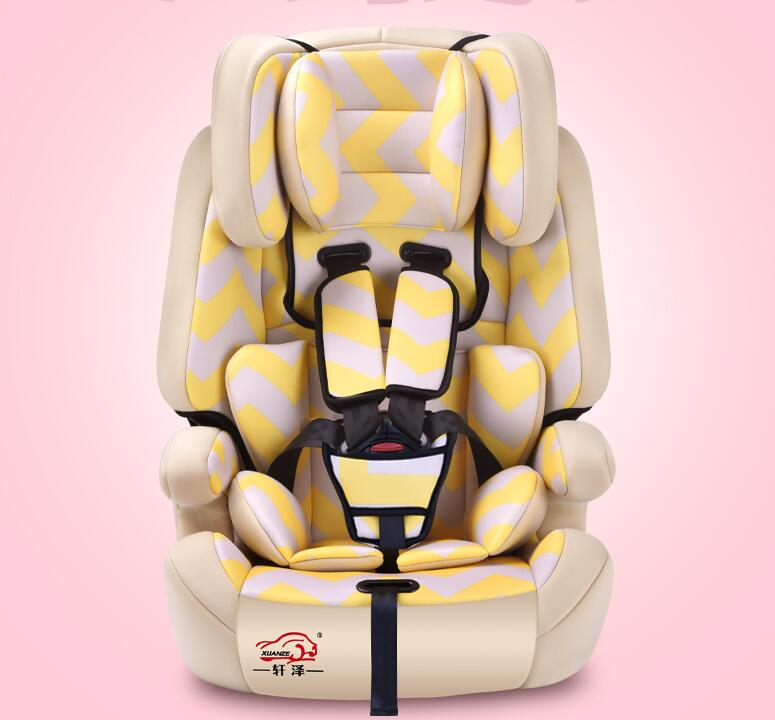 child safety seat car baby child car seat for 0 4 6 12 year old send isofix tape as gift