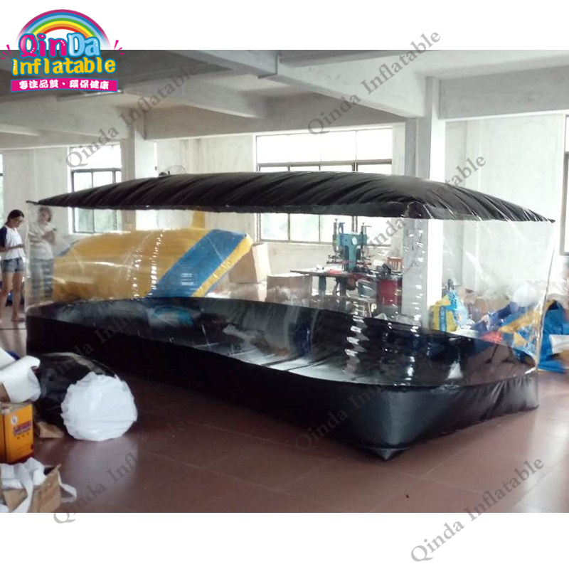Dust Proof Inflatable Car Shelter Car Capsule Showcase Transparent Tent For Car,Storage Car Booth цена