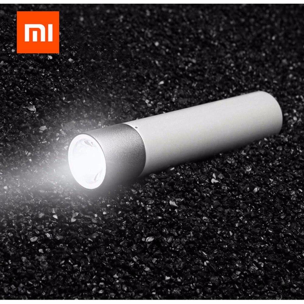Xiaomi Portable Flash light 11 Adjustable Luminance Modes Rotatable Lamp Head 3350mAh Lithium Battery USB Charging Port GIFT|Smart Remote Control| |  - title=