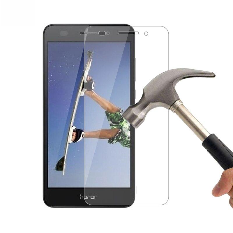 """2 шт. 2.5D 9 H закаленное Стекло для huawei Honor 5A Y6 II компактный Стекло Экран протектор для huawei Honor 5A LYO-L21 5,0 """"телефон фильм"""