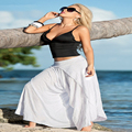 European and American fashion explosion models two sets of sexy beach wear skirt blouse spot women sets F111