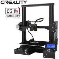 Best Selling Creality 3D Ender3/Ender 3X Upgraded Tempered Glass Optional,V slot Resume Power Failure Printing DIY KIT Hotbed