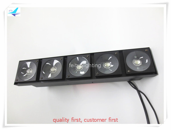 free shipping Bright Stage Bar Strip Wash 5x30w COB Blinder Light LED RGBW 4in1 Matrix DMX New 5 Eyes Power DJ Disco Lighting