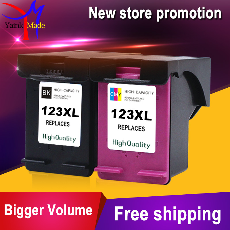 Remanufactured 123XL Ink Cartridge for HP 123 Deskjet 1110 2130 2132 2133 3630 3632 3637 3638 ENVY 4513 4520 4521 4522 printer
