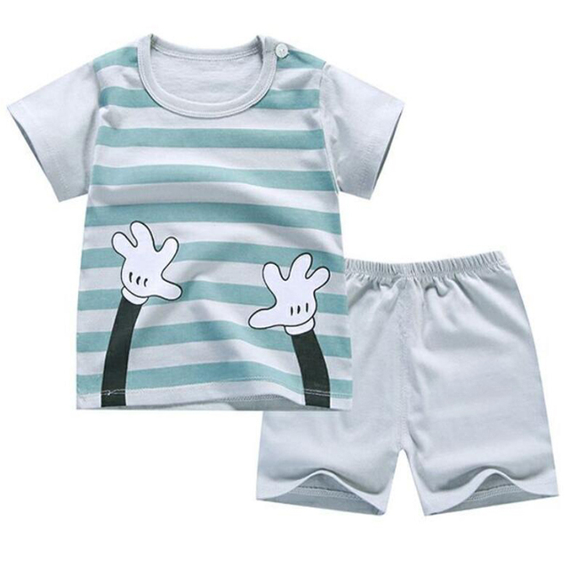 71c22342d1fd Baby Boys Suit shorts For Boy 1 2T 3T 4T Little Toddler Boys Summer  Clothing Short Sleeve tshirt T shirt Pants Tops Clothes Sets