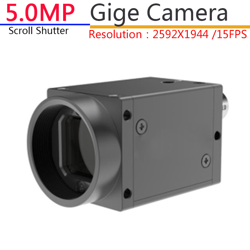US $300 0 |GIGE Gigabit Ethernet IP 5MP Industrial Digital Camera Machine  Vision+ SDK, Support For Windows 7/8/10 Operating System-in Microscopes  from