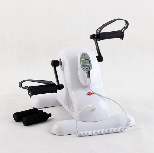Electric Home Mini Bike Physiotherapy Rehabilitation Limbs Exercise Gym Machine Health Recovery Old Sick People Diabetes Patient