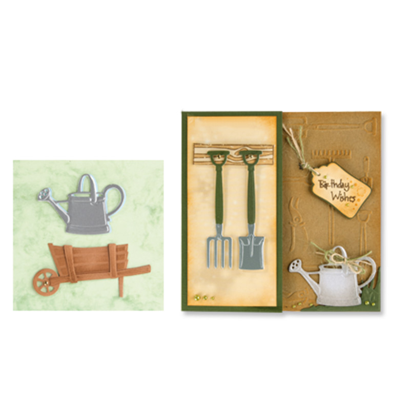 Eastshape Garden Tools Dies Metal Cutting for Scrapbooking Card Making Paper Embossing Cuts Stencil Craft Frame New