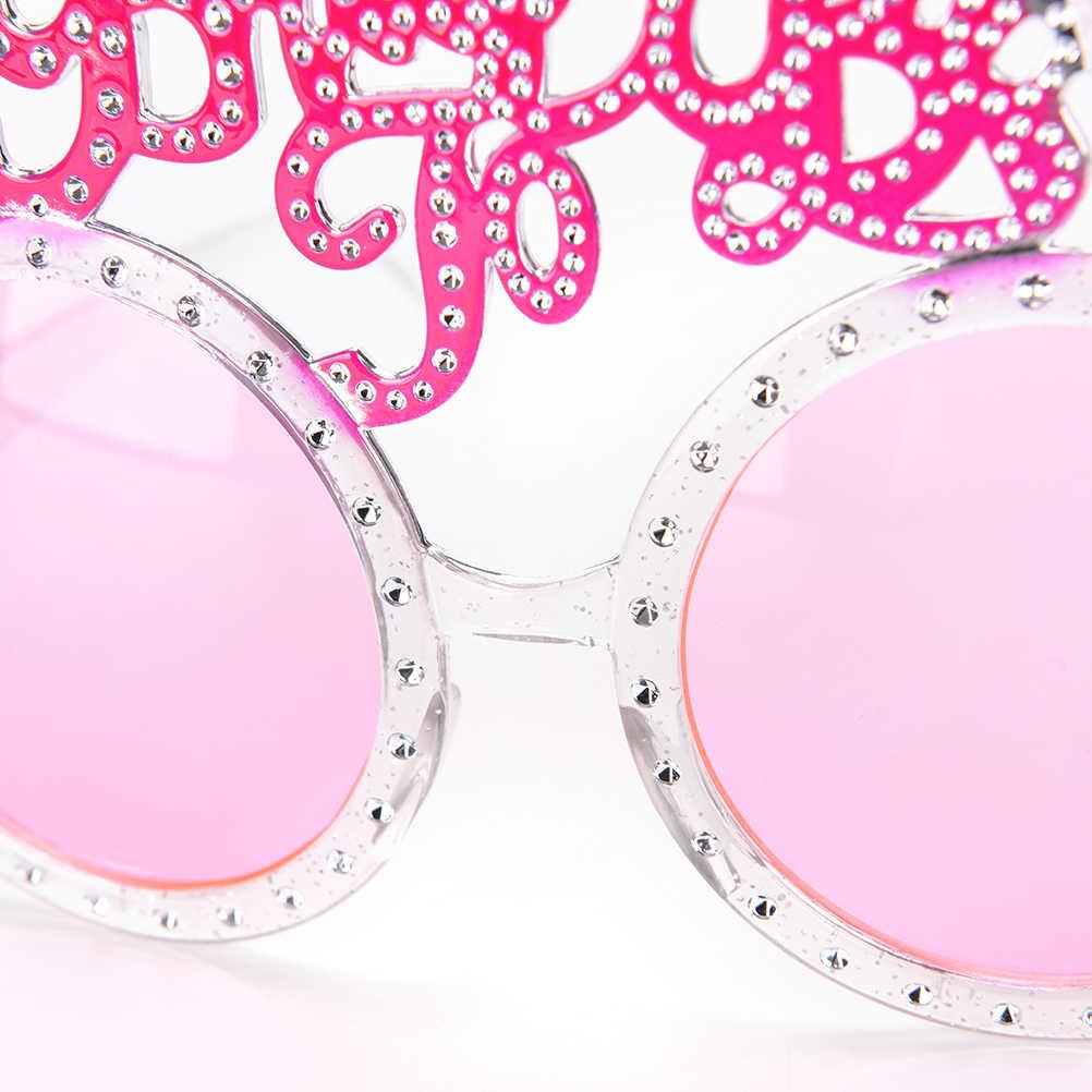 Розовые блестящие бриллиантовые кольца девичника товары для девичника невесты быть очки солнцезащитные очки с надписью Невеста приборы для декорации глаз