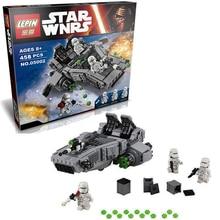 LEPIN 05002 Space Star Wars Starwars The Force Awakens First Order Snowspeeder Transporter Building Blocks Brick Enlighten Toys