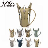SJ MAURIE 3L Water Bag Molle Military Tactical Hydration Backpack Outdoor Camping Camelback Nylon Camel Water Bag For Cycling