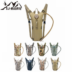 SJ-MAURIE 3L Water Bag Molle Military Tactical Hydration Backpack Outdoor Camping Camelback Nylon Camel Water Bag For Cycling