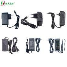 AC 100/240V к DC 5V 12V 24V Светодиодный источник питания 1A 2A 3A 5A 6A 8A 10A трансформатор освещения для светодиодной ленты CCTV камеры безопасности