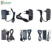 Fonte de alimentação led, ac 100/240v a dc 5v 12v 24v 1a 2a 3a 5a transformador de iluminação 6a 8a 10a, para segurança da câmera led cctv