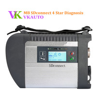 Best Quality MB SD Connect Compact 4 Star C4 Diagnosis with WIFI for Cars and Trucks Works Stables