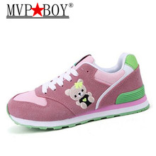 MVP BOY New Fashion Women Sneakers Casual Shoes Female Summer Canvas Shoes Trainers Lace Up Ladies Basket femme  tenis feminino стоимость