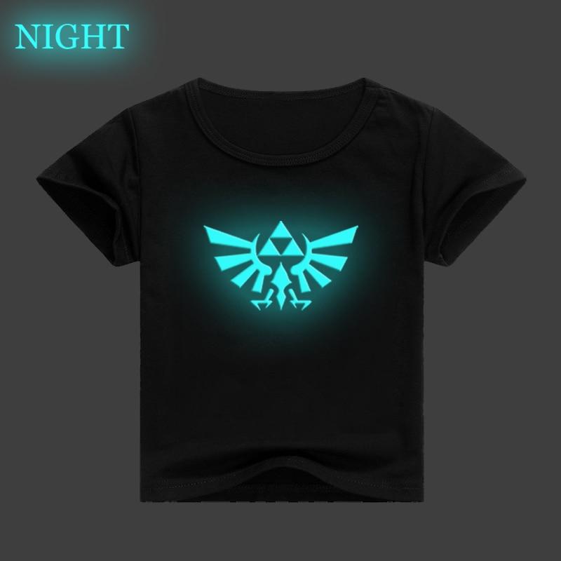The Legend of Zelda Link Kids   T     Shirt   3D Luminous Children Clothing Baby Boys Girls Casual   T  -  shirt   Summer Short Sleeve Tee Tops