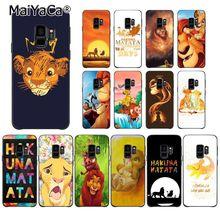 MaiYaCa Король Лев Coque чехол для телефона для samsung Galaxy S7 S6 edge plus S5 S9 S8 плюс S10 S10Plus S10E чехол M10