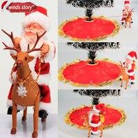 Weihnachtsgeschenk neue Weihnachtsmann deer auto lieferung geschenke kinder spielzeug Weihnachten home dekorationen boden weihnachtsbaum dekoration