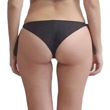 EONAR Swimwear Women 2018 Cheeky Bikini  Bottom Adjustable Side Ties  Brazilian Thong Swimsuit  Classic Cut Bottoms Biquini Swim
