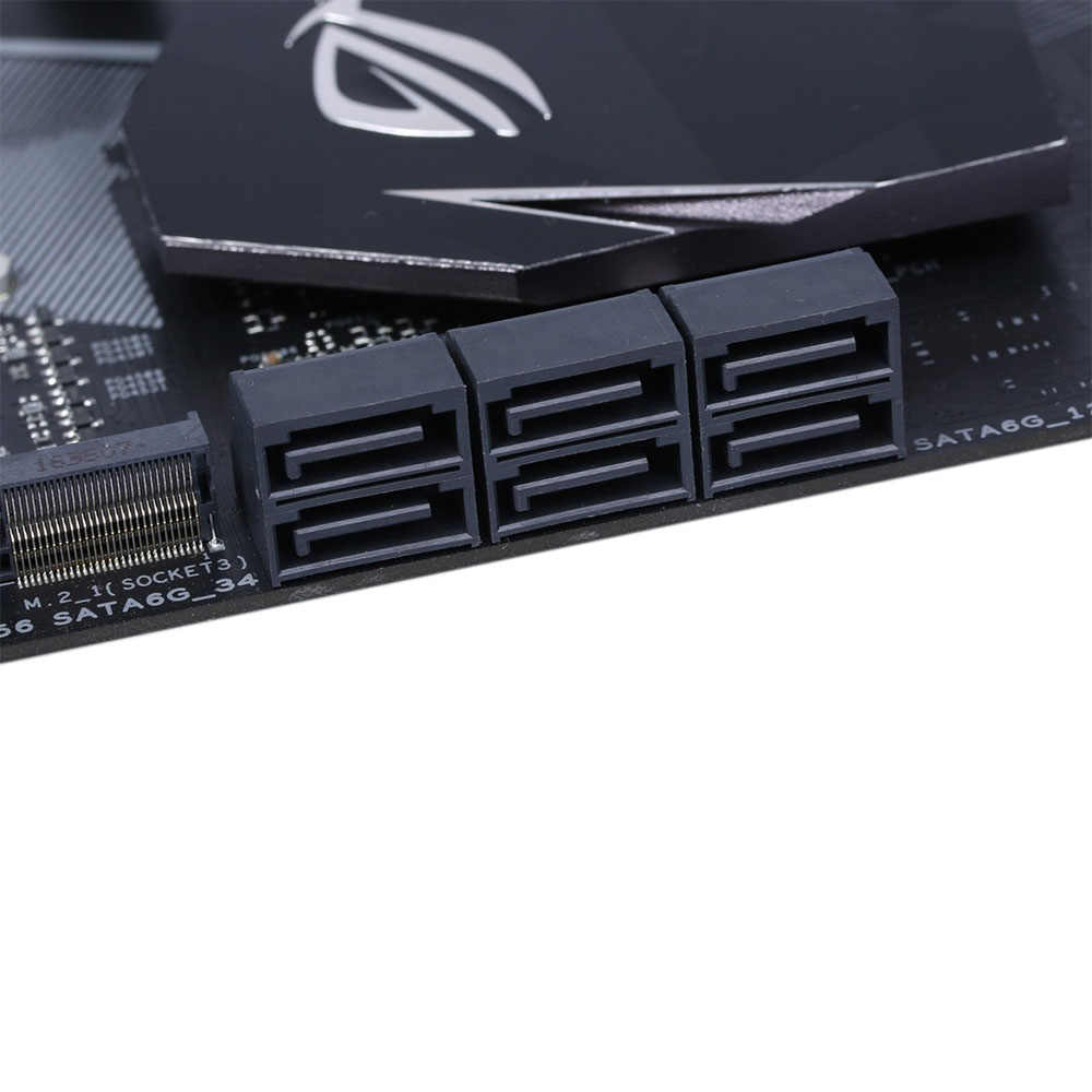 中古オリジナルデスクトップマザーボードインテル Z270 Asus ROG ストリックス Z270F ゲーム LGA 1151 コア i7/i5/i3/ ペンティアム/Celeron DDR4 ATX