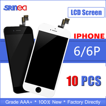 цены на 10PCS AAA Quality Tested LCD Screen For iPhone 6 Plus 6 LCD Display Touch Digitizer Assembly Apple i Phone 6p 6plus Replacement  в интернет-магазинах