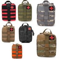 Открытый тактический медицинский комплект для путешествий аптечка многофункциональные карманы Кемпинг походная сумка аптечка набор для в...