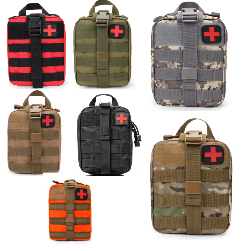 Outdoor Tactical Medical Kit Travel First Aid Kit Multi-Function Pockets Camping Hiking Bag First Aid Kit Survival Kit DLY006