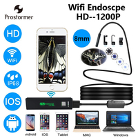 Prostormer HD Wifi Endoscope Camera iOS Wifi Camera Android Iphone Borescope Camera Endoscopic Semi Rigid Borescope Camera