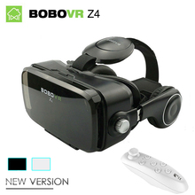 "Original BOBOVR Z4 Mini 3D VR Glasses Virtual Reality google cardboard bobo vr box 2.0 vr headset for 4.0""-6.0"" smartphones"