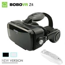 """Оригинальный bobovr Z4 мини 3D VR Очки виртуальной реальности Google картона Bobo VR коробка 2.0 VR гарнитура для 4.0"""" -6.0 """"смартфонов"""