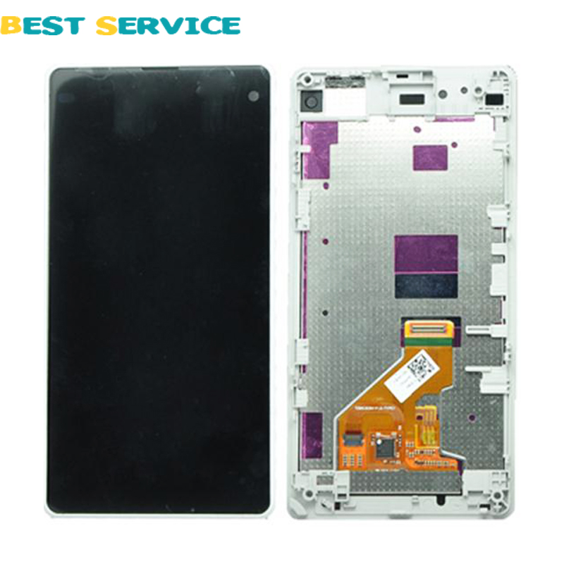 For Sony Xperia Z1 Compact Z1 mini D5503 M51w LCD Screen Display +Touch Screen Digitizer Assembly with Frame+Tools Free Shipping dhl 10pcs 2015 new lcd display touch screen digitizer assembly with frame for sony xperia z1 mini d5503 z1c m51w free shipping