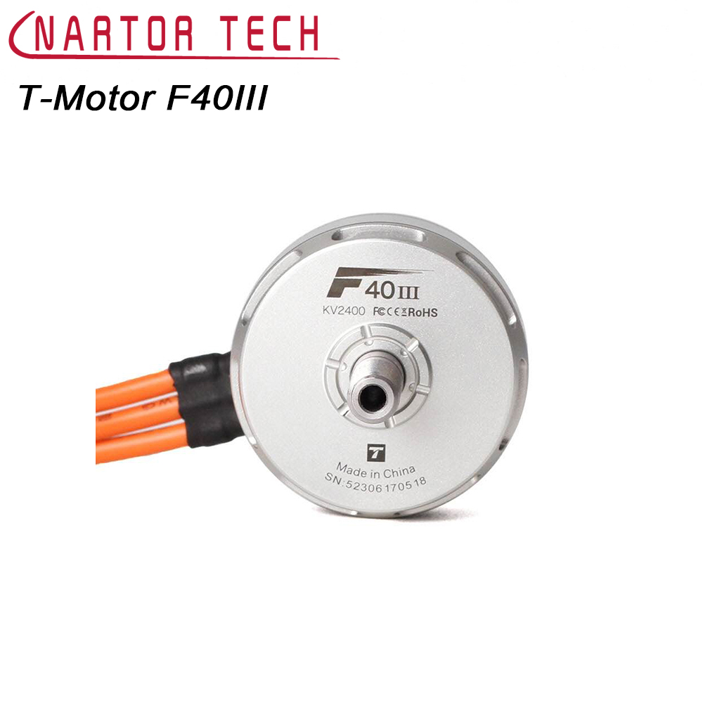 T-Motor F40III Brushless Motor F40 III 2400KV 2600KV 2750KV For QVA 210 220 250 260 Frame RC Quadcopter t motor mn1804 2400kv brushless motor for rc quadcopter multirotor