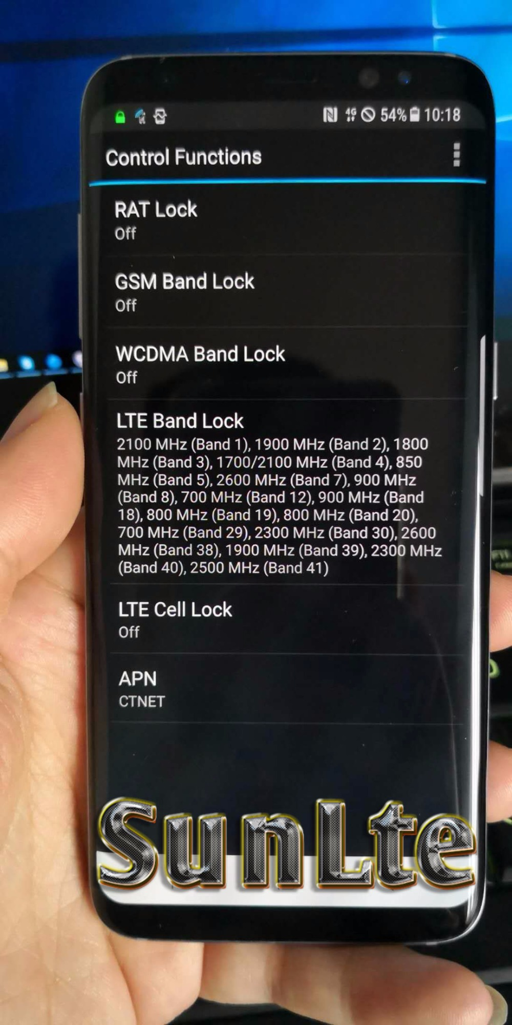US $1500 0 |S8 G9500 Drive test phone Support VoLTE / 3CA / 256 QAM / PESQ  & POLQA Band lock -in Mobile Phone Antenna from Cellphones &