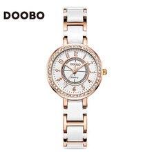 Famous Brand DOOBO Top brand luxury Watch Women Small Quartz-watch Fashion Ladies Bracelet Watches Women Montre Femme