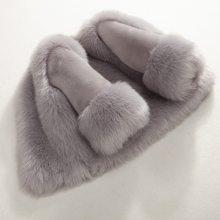 38014baf8d820 Dollplus hiver filles manteau de fourrure élégant bébé fille fausse  fourrure vestes et manteaux épais chaud Parka enfants Boutiq.