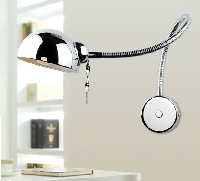 Chrome 1 pz forcellone ajustable led lampade da parete Moderno da ...