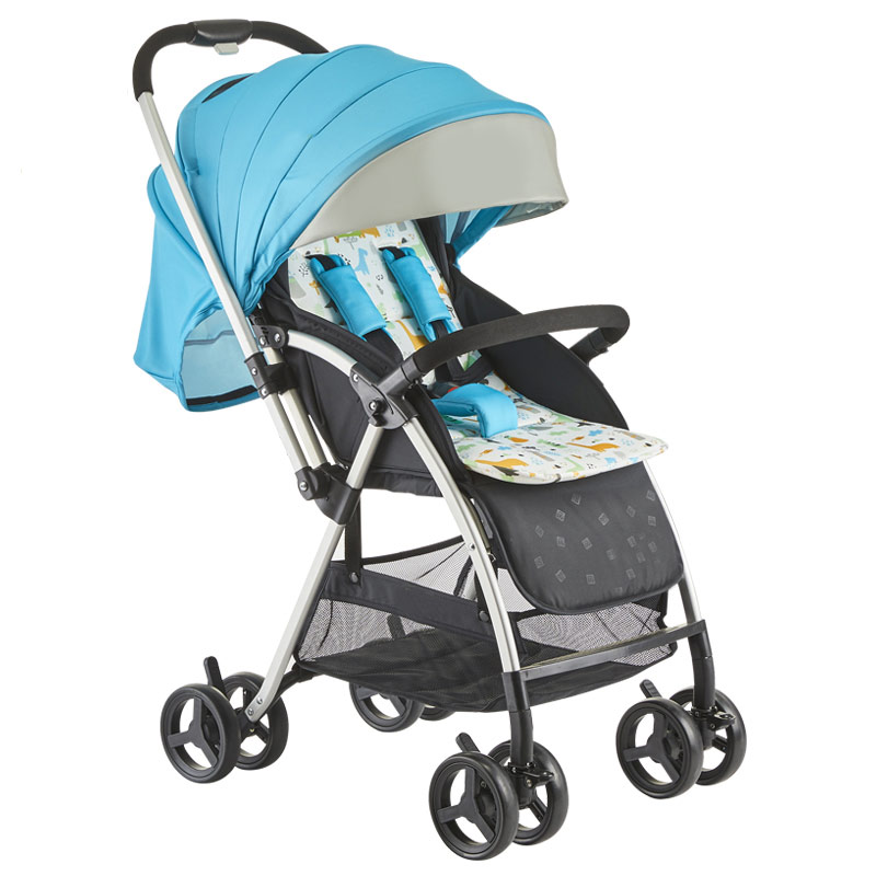 Baby Stroller 0-36 Months Four Rounds Foldable Adjustable Shock Absorber Variety of Options Mom's Favorite