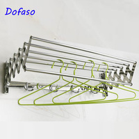 Dofaso stainless chrome shower rack towel shower shelf bathroom for body wash storage shelf 60cm