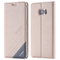 Floveme Original Luxury Ultra Magnetic Flip Leather Case For Samsung Galaxy S6 S6 Edge S6 Edge