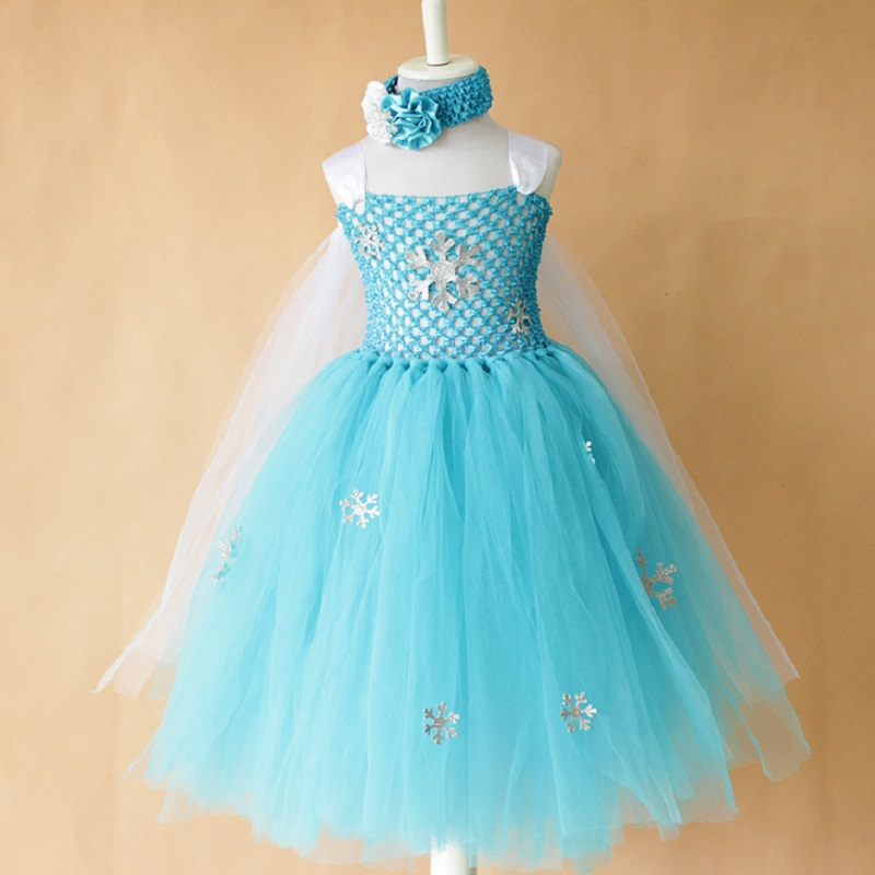044c74cce Detail Feedback Questions about New Elsa Costumes tutu dress for ...
