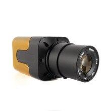 Lente de 25mm 1080P ahd Cámara 2MP mini caja Cámara cctv ahd para ahd dvr sistema opción lente 4mm/6mm/8mm/16mm para cámara