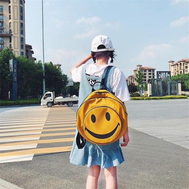 сумка рюкзак смайлик 2