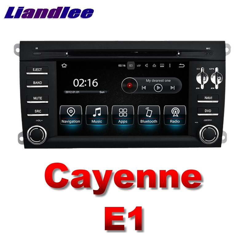 Liandlee Car Multimedia Player NAVI For Porsche Cayenne E1 2002~2010 Car  Touch Screen System Radio TV DVD Stereo GPS Navigation 552460630