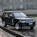 DIECAST METAL 1:34 MODEL CAR TOYS SOUND LIGHT PULL BACK RANGE ROVER SUV REPLICA