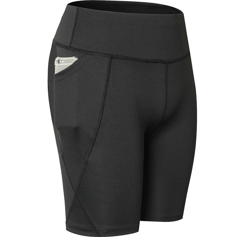 Женские шорты для занятий йогой Vertvie, эластичные спортивные шорты с карманами для занятий спортом на открытом воздухе, одежда для занятий сп...
