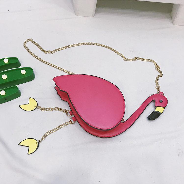 Femmes De Pcs Bourse Mode Messager Mini lot Broderie Flamingo Dames Chaîne Épaule Sac Main 100 Bandoulière Forme À Casual qURwdEc