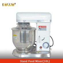 Коммерческий 10 литровый Электрический кухонный миксер с подставкой машина для разминания хлеба теста